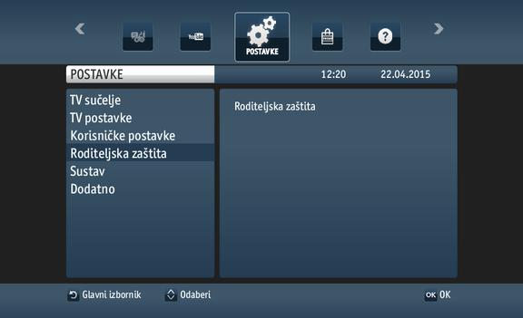 internetski profil za dekodiranje